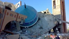 قصف مسجد