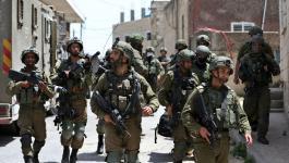 الاحتلال في بلدة عقربا