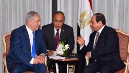 نتنياهو يشكر الرئيس المصري على دوره في وقف إطلاق النار