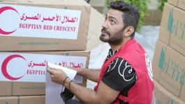 تامر حسني يدعم فلسطيني بالتطوع لدى الهلال الأحمر