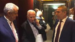 وفد حركة فتح يغادر القاهرة متجهًا إلى أرض الوطن