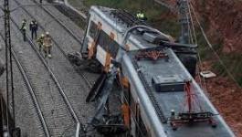 إصابات إثر حادث قطار سريع جنوب مصر