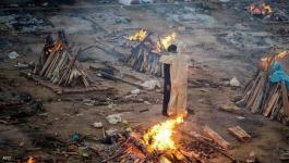 الهند   سيدة تعود إلى المنزل بعد أيام من حرق جثتها