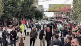 وقفة دعم وإسناد للأسرى أمام الصليب الأحمر في الخليل