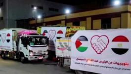 المساعدات المصرية