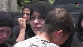 تشييع جثمان الشهيد محمد التميمي في رام الله