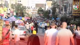 استعدادات المواطنين في رام الله لاستقبال عيد الأضحى المبارك