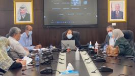 الكيلة خلال اجتماع اللجنة الوطنية لكورونا