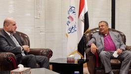 الهباش يلتقي رئيس الطائفة الإنجيلية في مصر