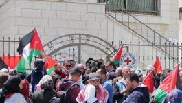 الخليل: وقفة دعم وإسناد مع الأسرى المضربين عن الطعام