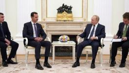 بوتين يعتزم عزل نفسه بعد لقائه مع بشار الأسد
