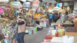 جولة لرصد إقبال المواطنين على سوق الزاوية وسط مدينة غزّة