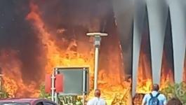 حريق في موقع افتتاح مهرجان الجونة السينمائي