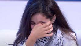 بالفيديو: فتاة فلسطينية تبكي بعد حديث السيسي