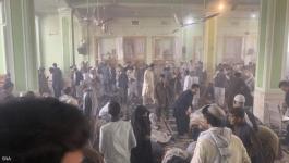 انفجار مسجد