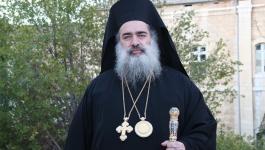 المطران حنا يناشد رؤساء كنائس العالم للتضامن مع القدس