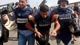 لجنة دعم الصحفيين تستنكر الاستهداف المتعمد على الصحفيين