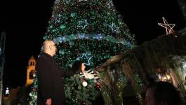 اضاءة شجرة الميلاد