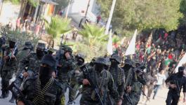 بالفيديو والصور: سرايا القدس تكشف عن صاروخ بعيد المدى خلال مسير عسكري بغزّة