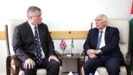 حميد يضع القنصل البريطاني في ضوء الانتهاكات الإسرائيلية