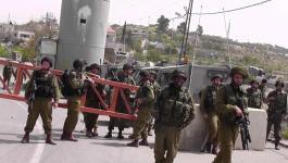 حاجز للاحتلال بالحرم الإبراهيمي يتعرض لـ