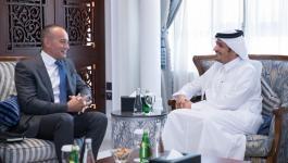 ميلادنيوف يلتقي بوزير الخارجية القطري لبحث تطورات الأوضاع في غزّة