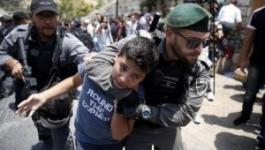 تقرير حقوقي انتهاكات إسرائيلية واسعة بحق أطفال القدس.jpg