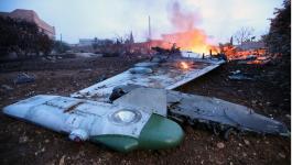 طيار روسي يفجر قنبلة يدوية بنفسه تجنبًا للأسر