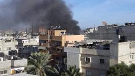 4 إصابات إثر سلسلة انفجارات بالبريج.jpg