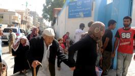 برنامج الأغذية العالمي يوزع مساعدات غذائية لـ (225) لاجئ بغزة