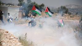 إصابات جراء قمع الاحتلال لمسيرتي نعلين وكفر قدوم