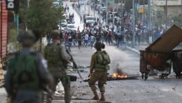 الاحتلال يقمع مسيرة سلمية دعمًا للأسرى في جنين