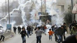 الاحتلال يقمع مسيرة تضامنية مع الأسرى في تقوع.jpg