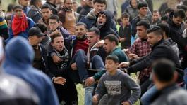 مركز حقوقي يدعو المجتمع الدولي لوقف اعتداءات الاحتلال بغزة
