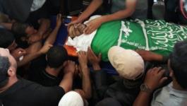 تشييع جثمان الشهيد أبو مصطفى في خانيونس.jpg
