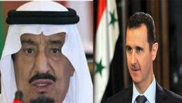 الأسد والملك سلمان
