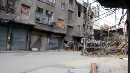 استمرار إغلاق منفذ مخيم اليرموك الوحيد.jpg