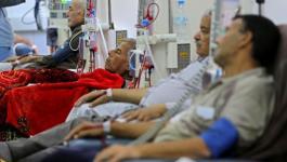 مرضى مشافي غزة بلا وجبات اليوم بسبب توقف الشركات عن توريدها