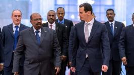 الأسد يستقبل الرئيس السوداني