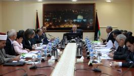 تعرّف على أبرز الملفات التي بحثتها جلسة الحكومة برام الله اليوم وأبرز القرارات