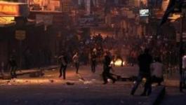 4 اصابات بـالمطاط والعشرات بالاختناق بمواجهات مع الاحتلال في قلنديا.jpg