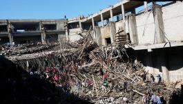 إصابة 3 عمال بجراح طفيفة إثر انهيار سقف مبنى قيد الإنشاء في قلقيلية