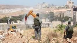 الاحتلال يصادر أراض في بلدة العيسوية