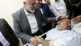 ماذا قال هنية رداً على محاولة اغتيال اللواء توفيق أبو نعيم