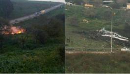 إسقاط طائرة حربية إسرائيلية في الجولان المحتل5.jpg