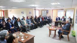 رام الله: الرفاعي يشارك تجربته القيادية مع متدربي المدرسة الوطنية للإدارة