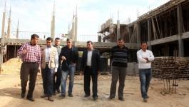 سلطة الأراضي بغزة تبحث احتياجات قطع التعليم من الأراضي لإقامة المدارس