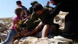 مستوطن يعتدي على طفلين في القدس