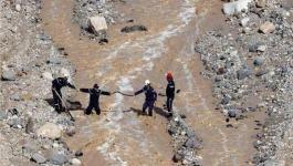 عمليات البحث عن مفقودة لا تزال جارية في منقطة البحر الميت 1.jpg