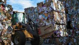 بلدية نابلس: تضاعف كمية النفايات خلال الأيام الثلاثة التي سبقت العيد